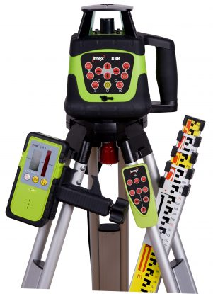 IMEX 88R KIT HV Rotating Laser Level Kit