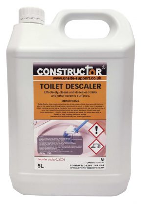 Constructor Toilet Descaler