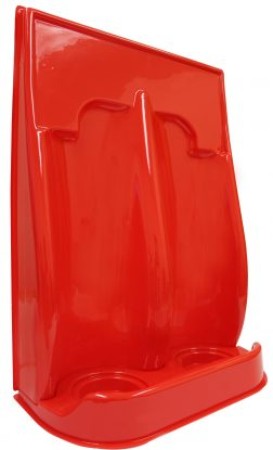 Double Point Fire Extinguisher Stand