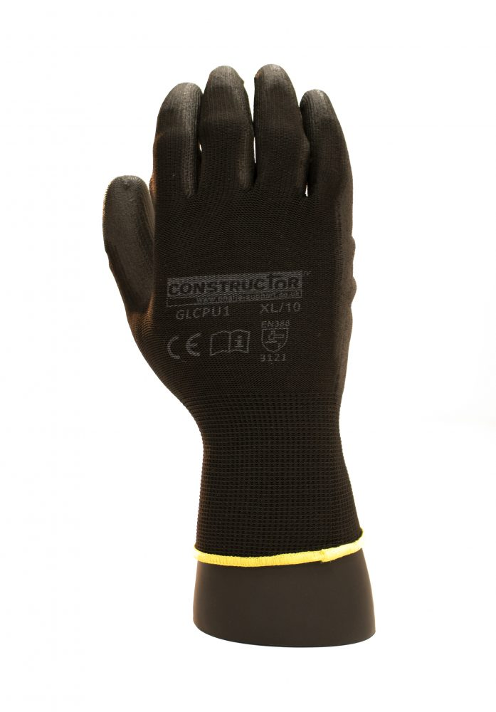 Constructor Lightweight Polyurethane Coated Gloves
