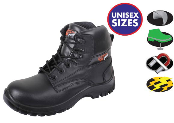 16c01163b52 Lightyear Non-Metallic Ankle Boot - OnSite Support
