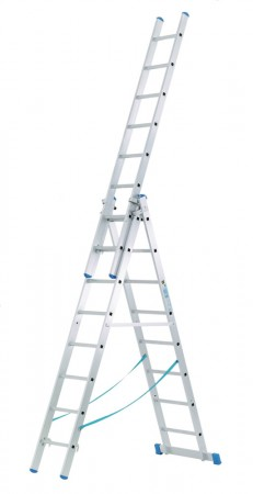 3-Part Combination Aluminium Ladder