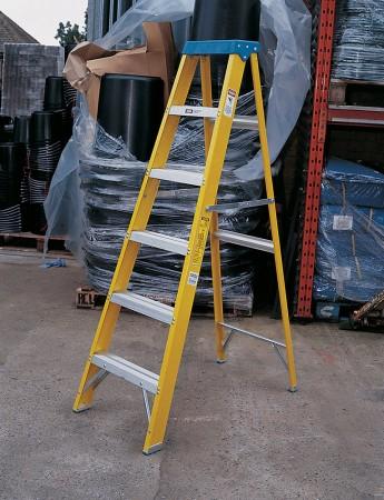 Fibreglass Builders/Painters Steps