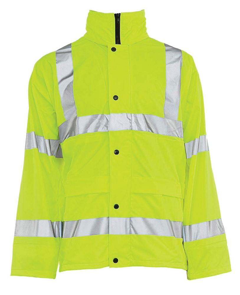 Hi Vis Pu Coated Jacket Onsite Support