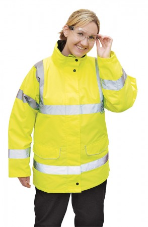 Hi-Vis Ladies Traffic Jacket