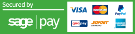 Payment Options - Secured By SagePay