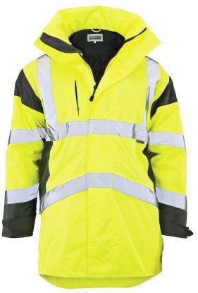 Hi-Vis Premium Constructor Jacket