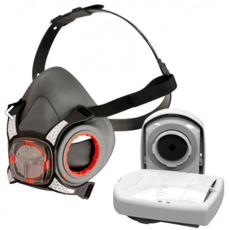 JSP Force8™ Half Face Mask with P3 RD PressToCheck Filters