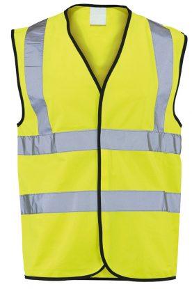 Class 2 Hi-Vis Waistcoat – Yellow
