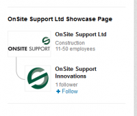 OnSite's Showcase Innovation Page on LinkedIn