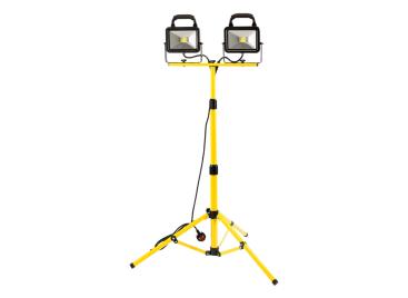 40W (2 x 20W) COB LED Twin Head Tripod Floodlight (3600 Lumen)