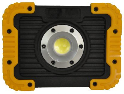 10w Rechargeable LED Cob Light with USB outlets (750 Lumen) - IP44 rated