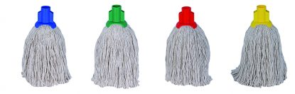 Colour Coded Mop Head -No.12 Twine  Socket Mop