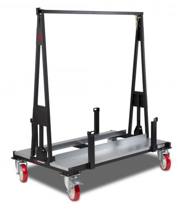 Armorgard Loadall Heavy Duty Plasterboard A-Frame Loadall Trolley with 1T capacity