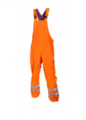 Hydrowear Utting Hi-Vis Waterproof Breathable Salopettes/Bib & Brace