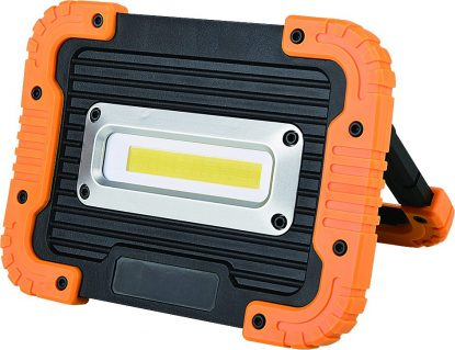 10W Rechargeable LED Cob Light with USB Outlets (1000 Lum)