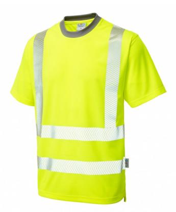 Hi-Vis Coolviz Plus Short Sleeved T-Shirt