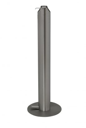 Stainless Steel Pedestal Sanitiser Station